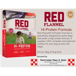 50lb Bag of High Protein Dog Food