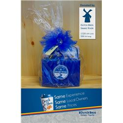 Gift Basket with two $25 Gift Cards