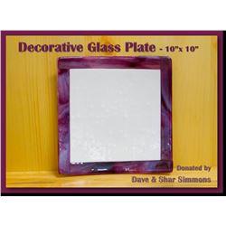 Small Decorative Glass Pieces
