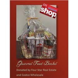 Gormet Food Basket and $25 Costco Gift Card