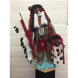 Large Buffalo Dancer Doll