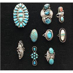 Group of Vintage Rings