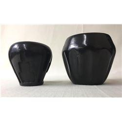 2 Santa Clara Pots- Reycita and Tafoya