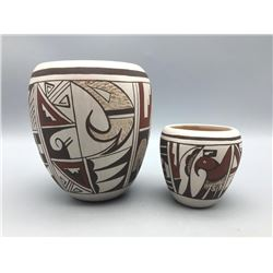 2 Navasie Hopi Pots