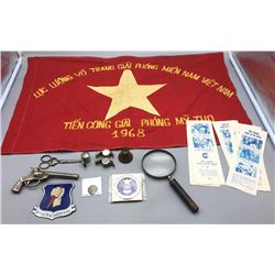 Group Misc American Militaria and Antiques
