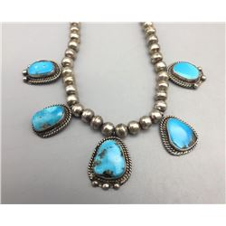 Vintage Turquoise Choker Necklace