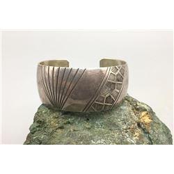 Unique Pattern Sterling Silver Bracelet