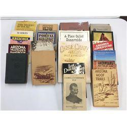 Numerous Arizona Themed Books and Literature