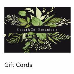 Cedar&Co. $100 Gift Certiciate