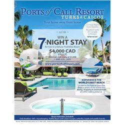Trip to Ports of Call Resort , Grace Bay in Turks and Caicos
