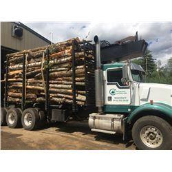Tandem Load of Firewood