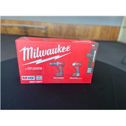 Milwaukee M18 Cordless 2-tool Combo Kit