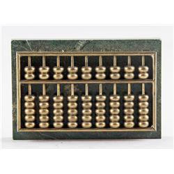 Spanish Castilian Brass Abacus Miniature