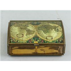 Brass and Glass Jewellery Case