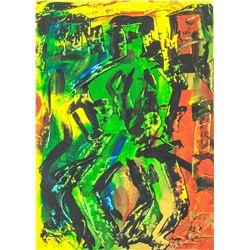 Elaine de Kooning American Oil on Canvas