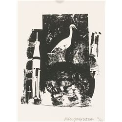 Robert Rauschenberg US Signed Silkscreen 19/85