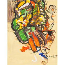 Rolph Scarlett Canadian Modernist Oil on Canvas