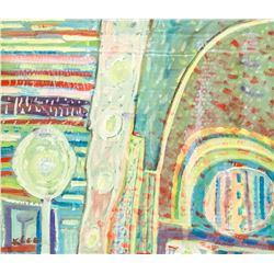Paul Klee German Abstract Oil on Board