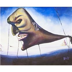 Salvador Dali Spanish Oil on Canvas MUSEE d'ORSAY