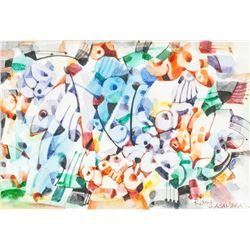 Rino Lacambra XX Canadian-Philippines Watercolor