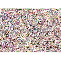 Jackson Pollock American Abstract Acrylic Canvas