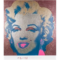 Andy Warhol American Pop Signed Silkscreen 1/10