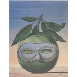Rene Magritte Belgian Signed Linocut 175/200