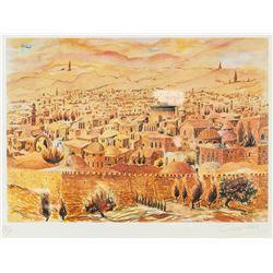 Gila Holt British-Israeli Lithograph 200/200