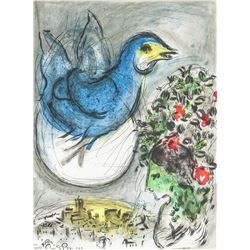 Marc Chagall Russian-French Lithograph