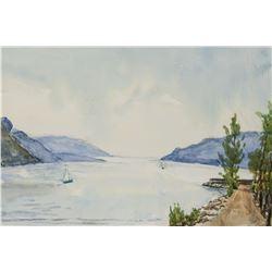 Winifred Nicholson British Impressionist Watercolo