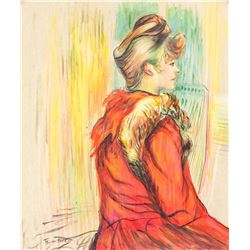 Henri de Toulouse-Lautrec French Mixed Media