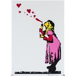 Banksy British Pop Signed Litho on Paper 3/500