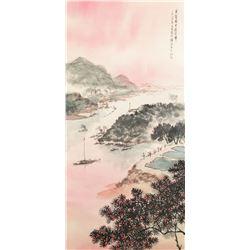 Fu Baoshi 1904-1965 Chinese Watercolor and Ink