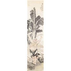 Shen Mo 1957 Chinese Watercolor Scroll