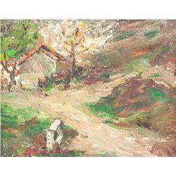 Emile Bernard French Modernist Oil on Canvas
