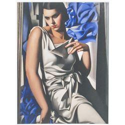 Tamara de Lempicka Polish Signed Linocut 39/100