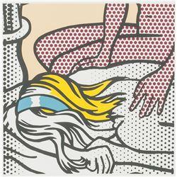 Roy Lichtenstein American Signed Linocut A.P