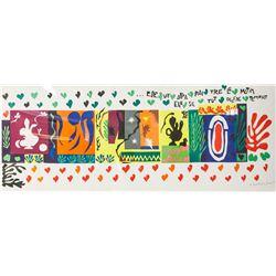 Henri Matisse Signed Lithograph Juin 50