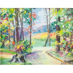 "Robert G. Harris Canadian OOB ""Woodland Road"""