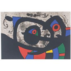 Joan Miro Spanish Signed Lithograph E. A