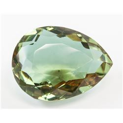76.95ct Pear Cut Brown to Green Alexandrite GGL