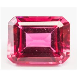5.90ct Emerald Cut Brown Natural Zultanite GGL