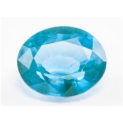 7.55ct Oval Cut Blue Natural Grandidierite GGL