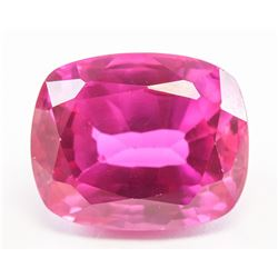 13.60ct Cushion Cut Pink Natural Ruby GGL