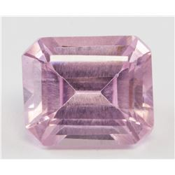 4.60ct Emerald Cut Pink Natural Spinel GGL