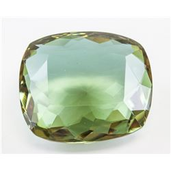 76.60ct Cushion Cut Brown to Green Alexandrite GGL