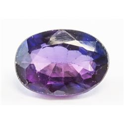7.25ct Oval Cut Blue-Purple Natural Alexandrite GG
