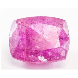 9.60ct Cushion Cut Pink Natural Bixbite GGL