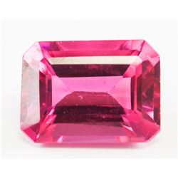 3.85ct Emerald Cut Pink Natural Zultanite GGL