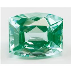 9.05ct Cushion Cut Green Natural Tourmaline GGL